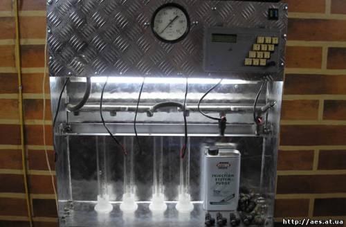 Стенд промывки форсунок своими руками фото